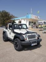 Jeep wrangler 4x4 cabrio automatik mieten auf Kreta.