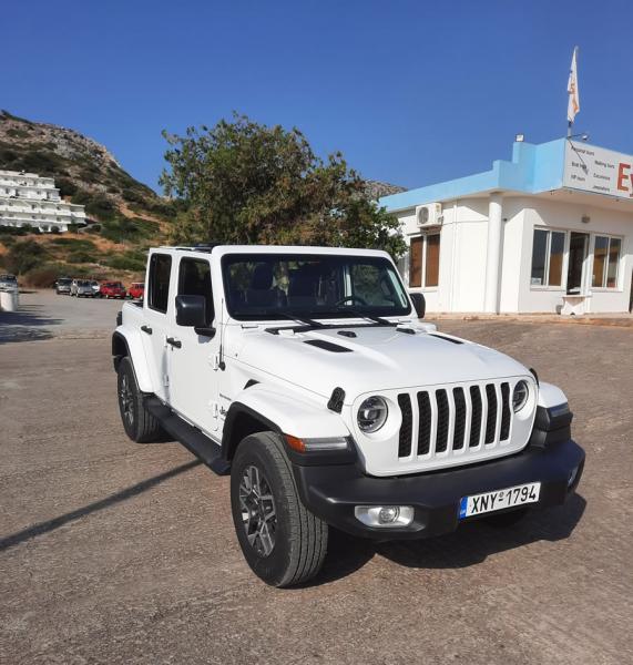 Jeep Wrangler 4x4 HYBRID cabrio automatic SAHARA 5 persons